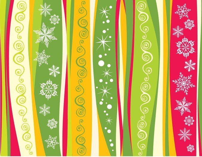 Snowflake Christmas Background