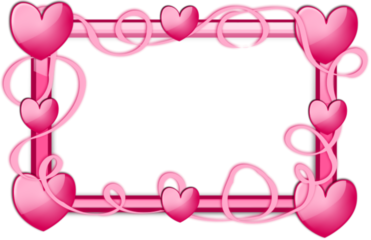 free pink hearts frame psd files  vectors   graphics heart shape vector download heart shape vector silhouette