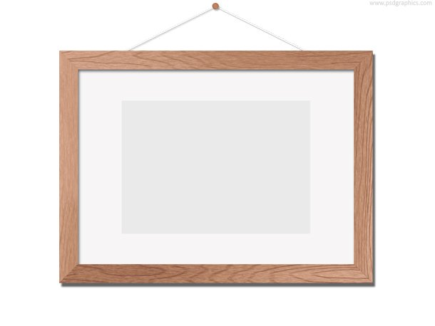 free wooden photo frame template psd psd files vectors graphics