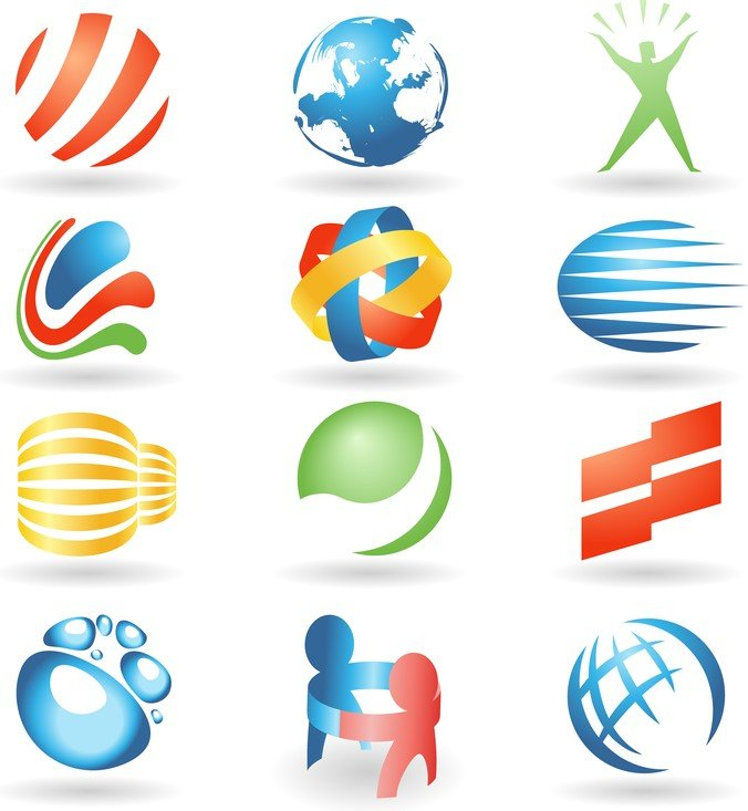 Variety Of Vector Graphics Logo