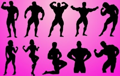 Body Builder Pack Silhouette
