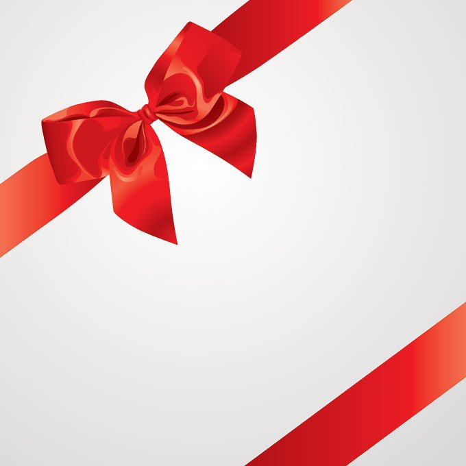 Red Ribbon Vector Free Download Red Bow Ribbon Vector