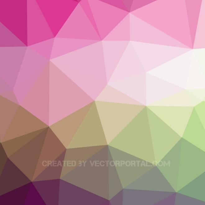 LOW POLY VECTOR BACKGROUND.eps
