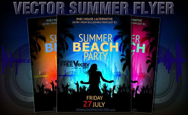 party flyer templates free