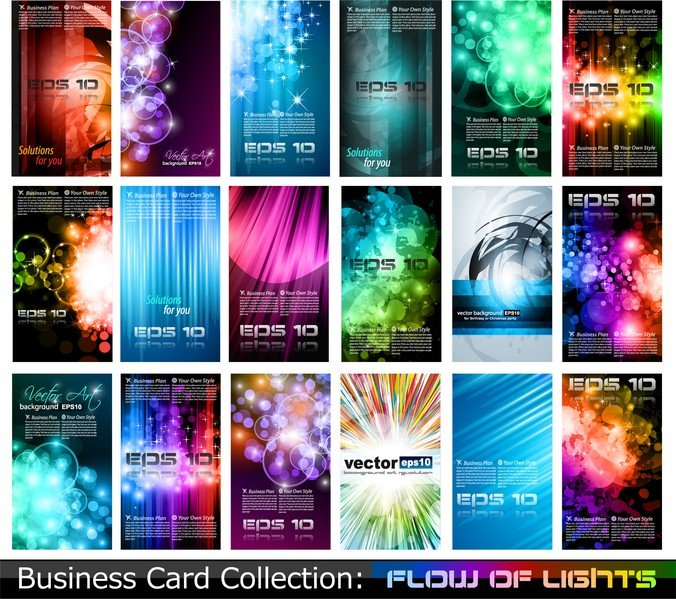 Variety Of Business Card Template 05