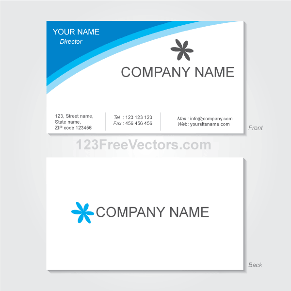 Visiting Card Design Pdf File Free Download