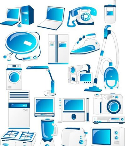 Domestic Appliances Icons
