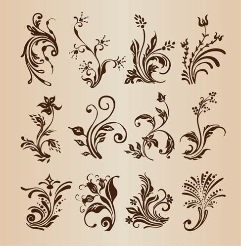 collection of floral design - photo #1