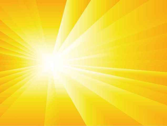 Sun Burst Summer Background