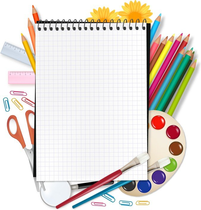 Painting Supplies And Stationery