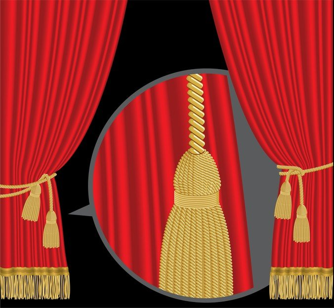 Stage curtain vectors 365psdcom for Theatre curtains psd