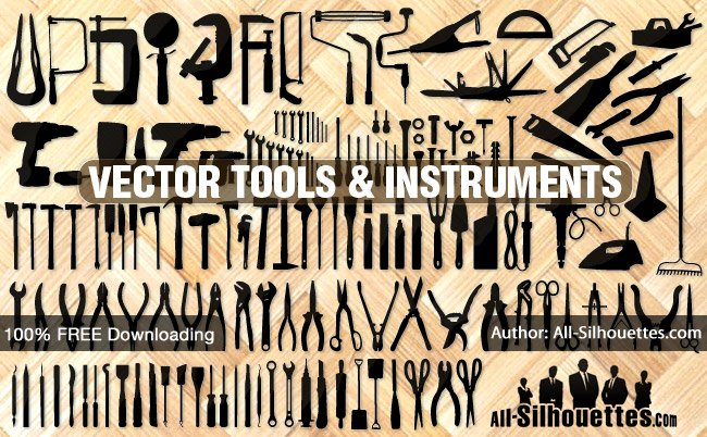 138 Vector tools, instruments, equipment