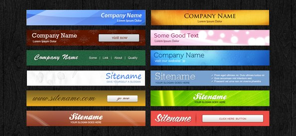 Free PSD Banners