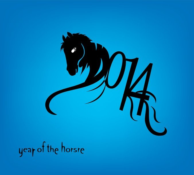 Free Horse 2014 Year Chinese Symbol Psd Files Vectors Graphics
