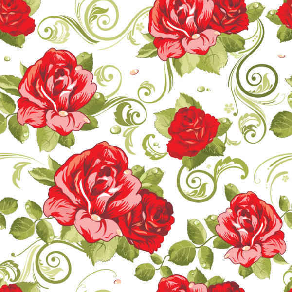 Free Floral seamless pattern background PSD files, vectors ...
