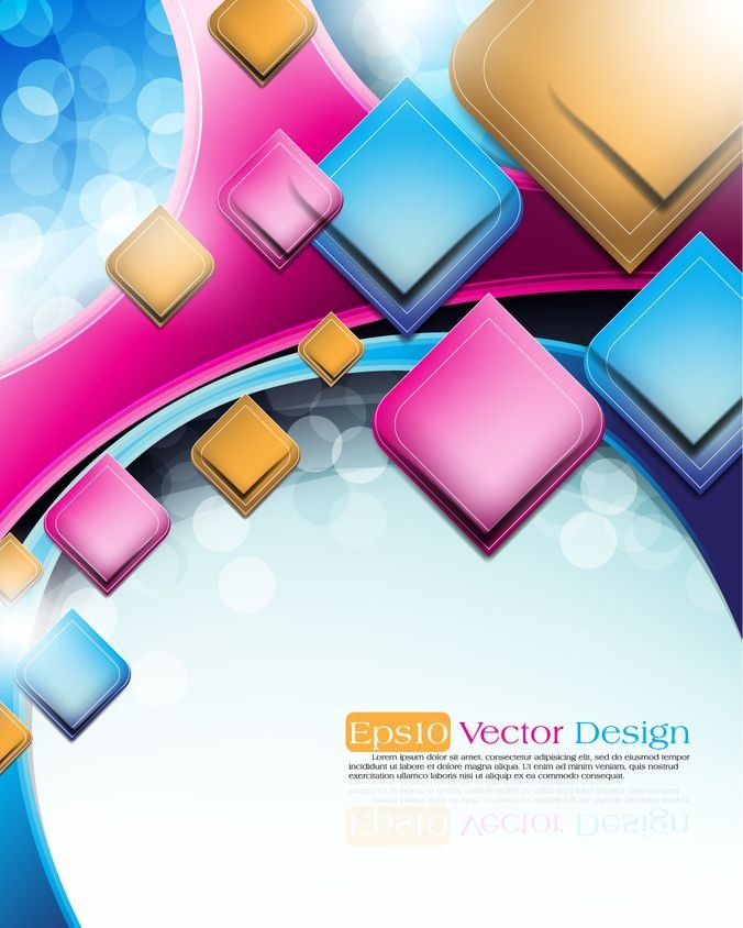 abstract vector background object 03