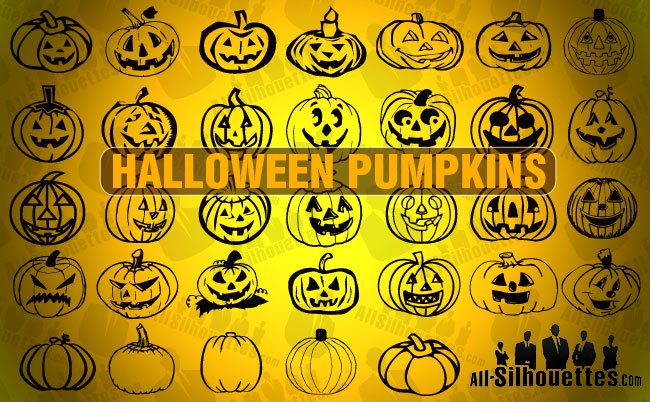 32 Halloween Pumpkins