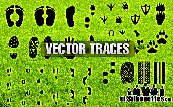 40 Free Vector Traces