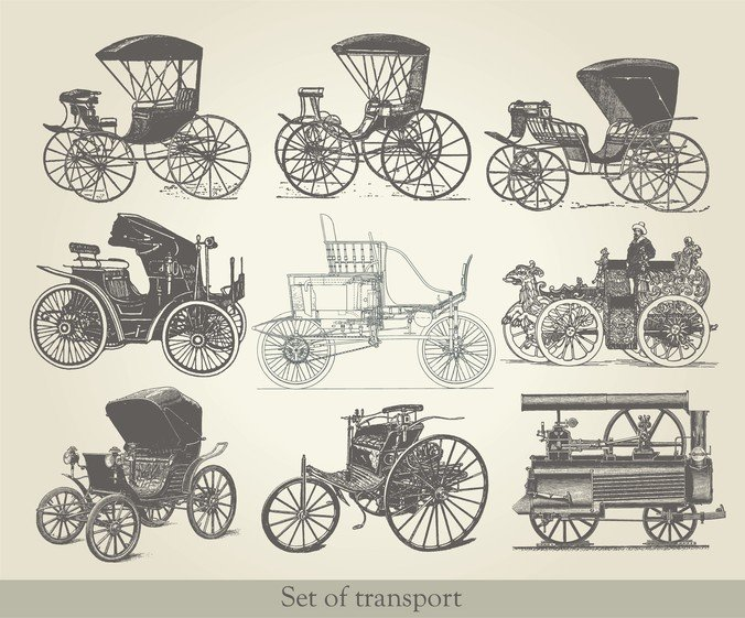 Antique Vehicles 02
