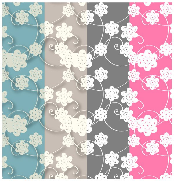 Free paper flowers patterns swatches free photoshop and free paper flowers patterns swatches free photoshop and illustrator patterns psd files vectors graphics 365psd mightylinksfo