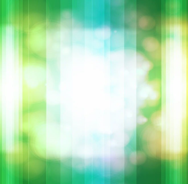 Bokeh Design Green
