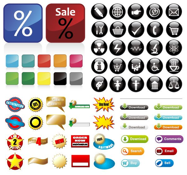 Some useful buttons icon