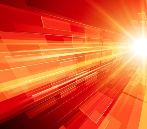 Abstract Bright Rays Background