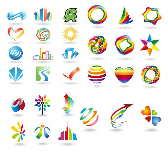 Some logo vector graphic material