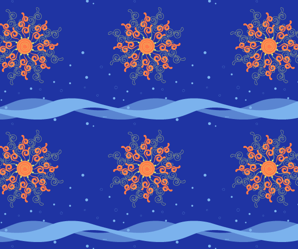 Sun and Motion Pattern
