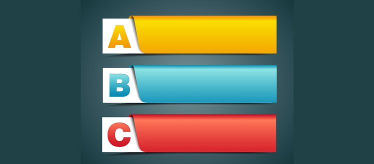 3 Colorful ABC Alphabet Banners