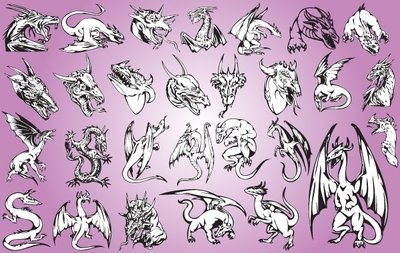 Artistic Style Dragon Pack
