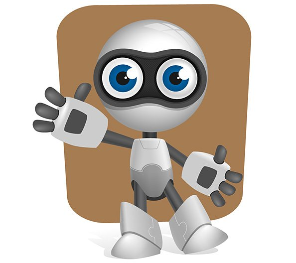 free robot vector character with glossy effects psd files vectors rh 365psd com robot factories in the world robot factory adidas