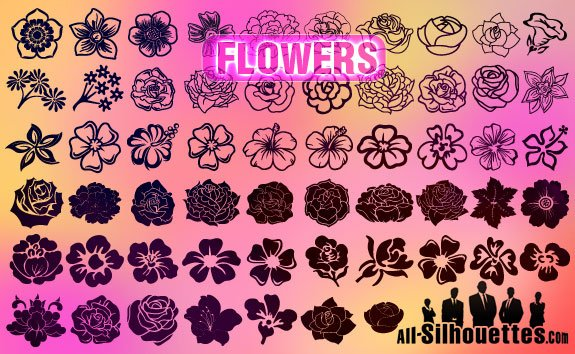 57 Download Vector Flowers