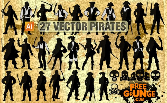 27 Vector pirates