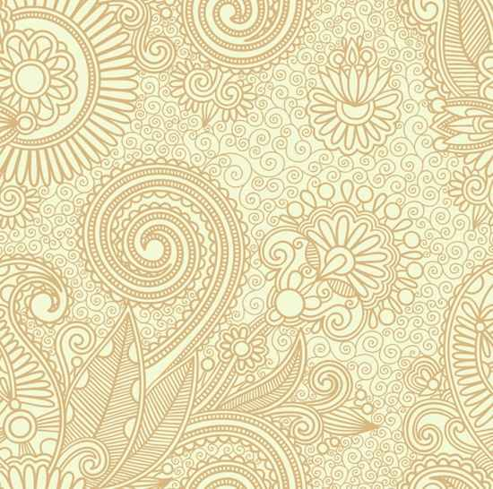 Vector Floral Pattern Background, vector file - 365PSD.com