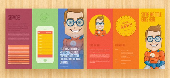 Brochure Template PSD 1