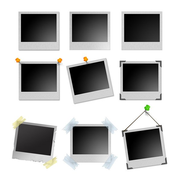 Free Polaroid Frames Ultimate PSD Pack PSD files, vectors & graphics ...
