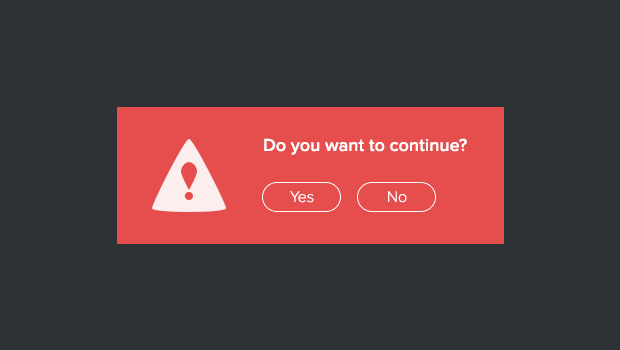 Confirmation Modal Window