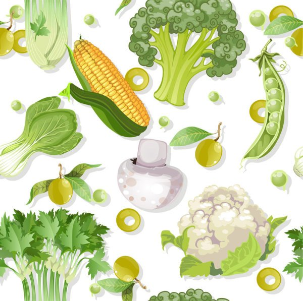 Vegetable background 02