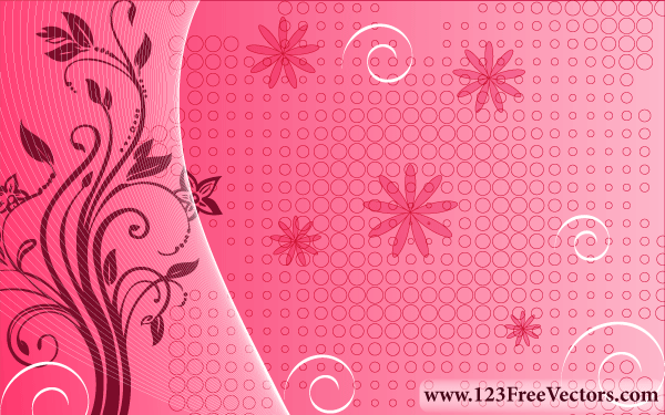 Free pink floral background psd files vectors graphics 365psd mightylinksfo