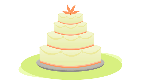 Free picture of wedding cakes