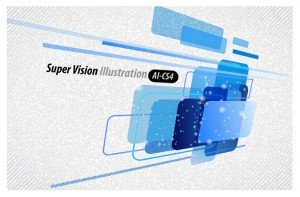 Super Vision Abstract Background
