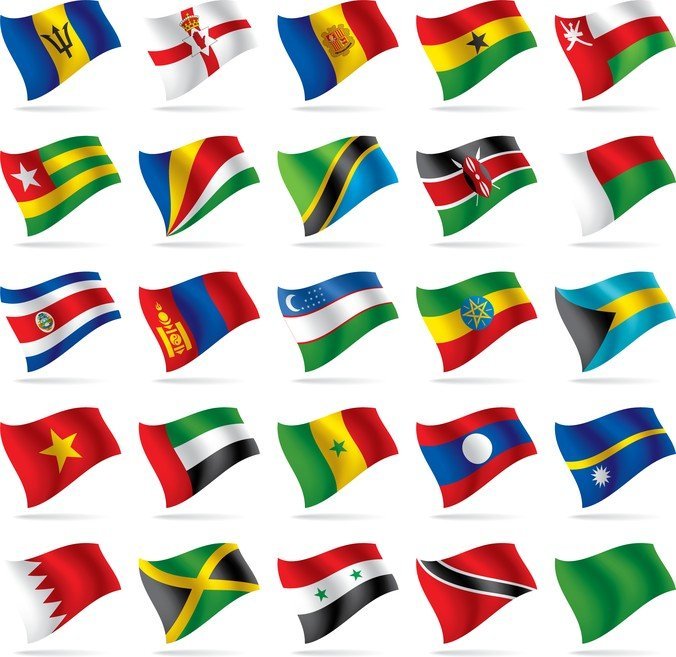 Countries And Regions Flag Flag