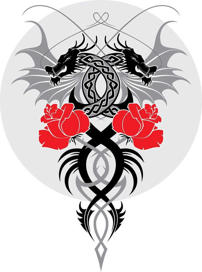 Dragon And The Rose