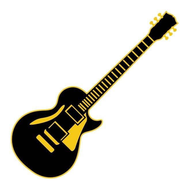 free electric guitar vector illustration eps psd files vectors rh 365psd com guitar vector free download guitar vector illustration