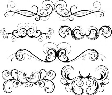 free free ornate vector swirls psd files vectors graphics rh 365psd com free vector swirls and curls free vector swirls png