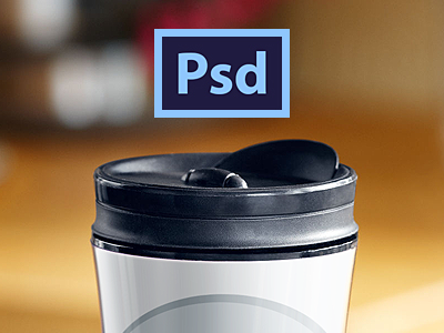 Free starbucks tumbler template psd files vectors for Starbucks personalized tumbler template