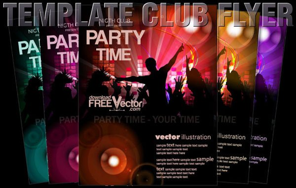 Free Vector Flyer template