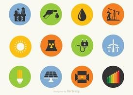 Free Energy Vector Icons