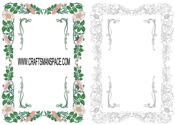 Free Floral Frame Vector Free Psd Files Vectors Graphics 365psd